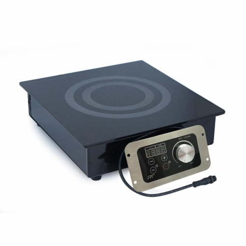 Sunpentown RR-1234R 1400W Built-in Radiant Cooktop Perspective: front