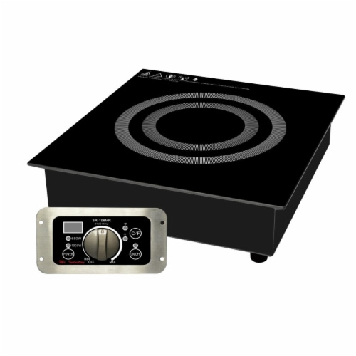 Sunpentown SR-108MR Built-in Non cooking & Hold Only Induction Warmer, Black Perspective: front