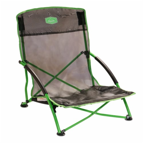 Alpine Mountain Gear Outdoor Event Chair Perspective: front