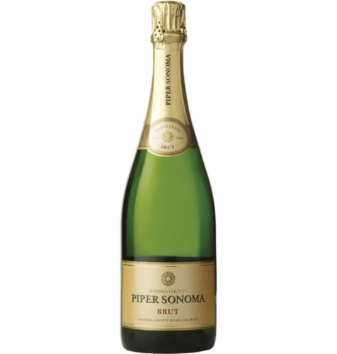 Puiper Sonoma Brut Sparkling Wine Perspective: front