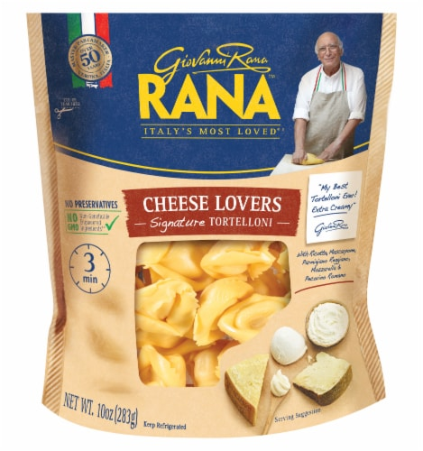 Rana Cheese Lovers Tortellini Perspective: front