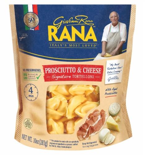 Rana Prosciutto & Cheese Tortellni Perspective: front