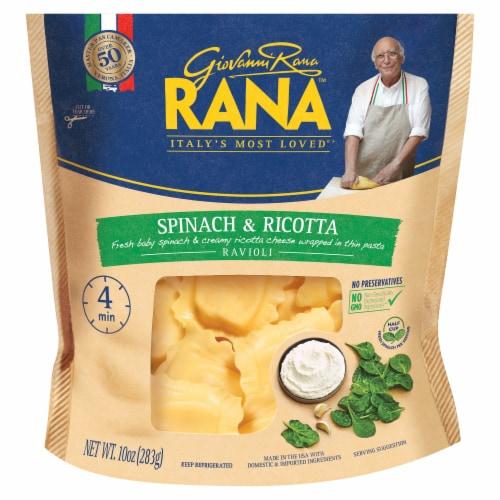 Rana Spinach & Ricotta Ravioli Perspective: front