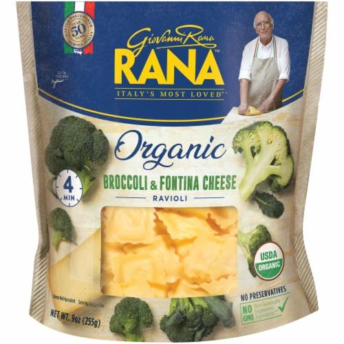 Giovanni Rana Organic Broccoli & Fontina Cheese Ravioli Perspective: front