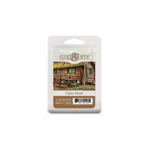 Oak & Rye Cabin Fever Scented Wax Cubes Perspective: front