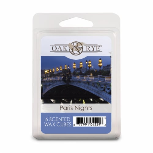 Oak & Rye Paris Nights Wax Cubes - 6 Pack Perspective: front