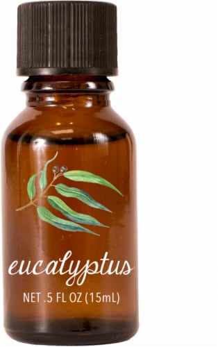 AmbiEscents Eucalyptus Essential Oil Perspective: front