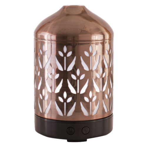 AmbiEscents™ Armell Essential Oil Diffuser - Copper Perspective: front