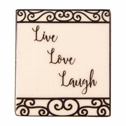 ScentSationals Scent Charms Live Laugh Love Fragrance Oil Diffuser Perspective: front