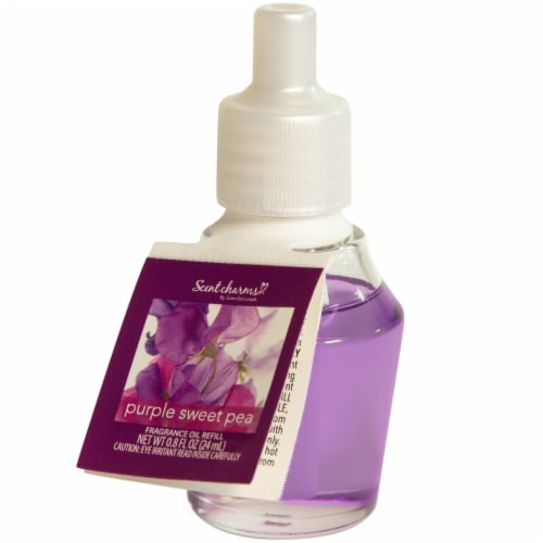 ScentSationals ScentCharms Purple Sweet Pea Fragrance Oil Refill Perspective: front