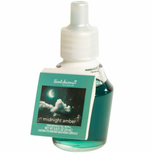 ScentSationals ScentCharms Midnight Amber Fragrance Oil Refill Perspective: front