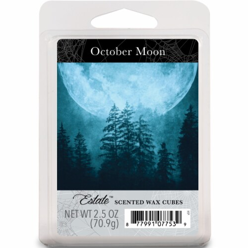 Oak & Rye® October Moon Scented Wax Cubes Perspective: front