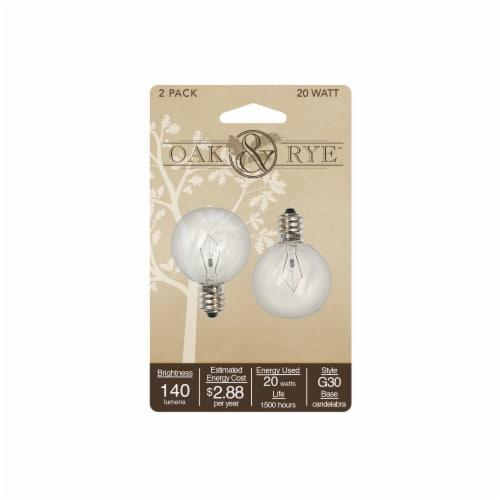 AmbiEscents 20-Watt Wax Warmer Light Bulb - Clear Perspective: front
