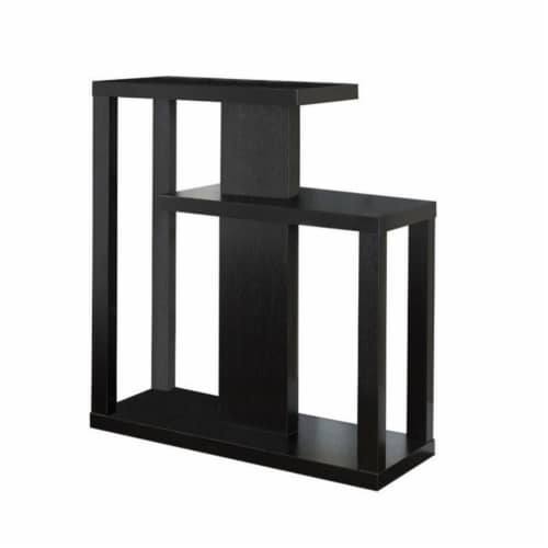 Monarch 32  Console Accent Table in Cappuccino Perspective: front