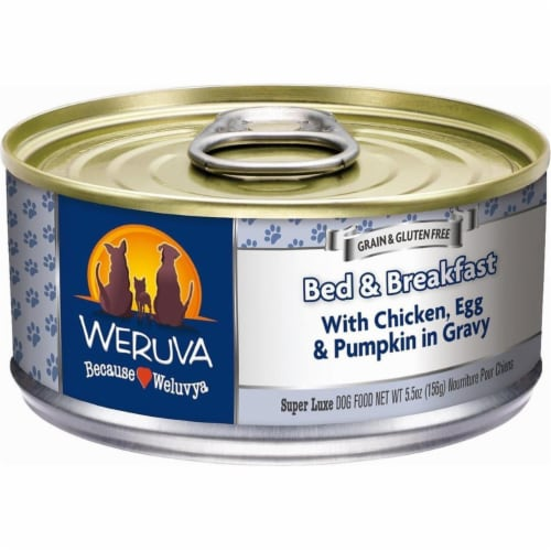 PF 98000448 5.5 oz Bed & Breakfast Dog Food Cans - Pack of 24 Perspective: front