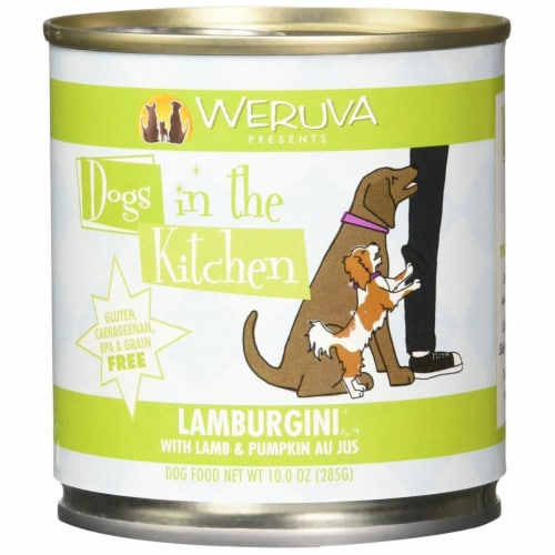 PF 98200489 10 oz Dogs In The Kitchen Lamborghini Lamb & Pumpkin Food - Pack of 12 Perspective: front