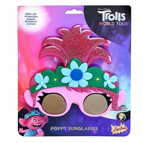 Sunstaches SG3736 Trolls World Tour Poppy Toy Perspective: front