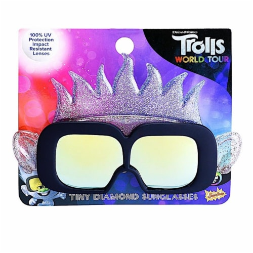 Sunstaches SG3739 Lil Trolls Guy Diamond Toy Perspective: front
