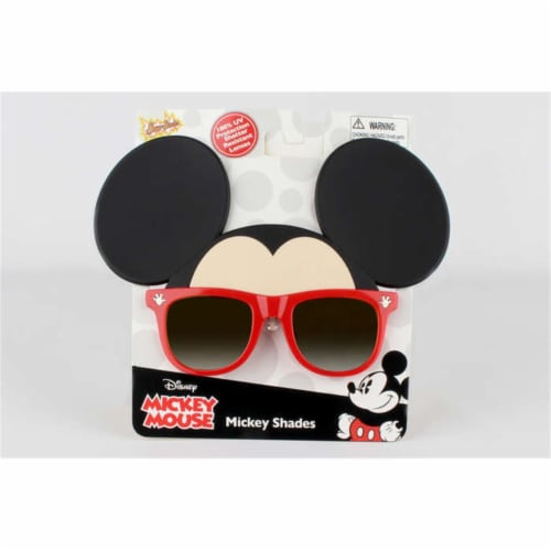 Sunstaches SG2565 Mickey Mouse Sunglasses Perspective: front