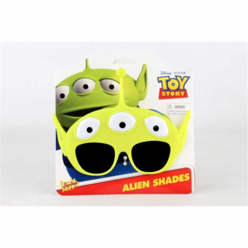 Sunstaches SG2627 Toy Story Little Man, Green Perspective: front