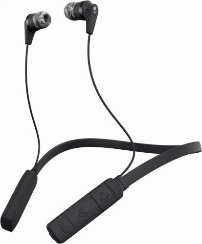 Skullcandy Ink'd Bluetooth In-Ear Earbuds - Black Perspective: front