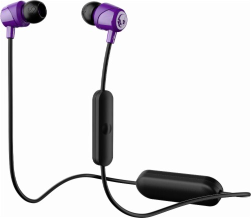 Skullcandy Jib Wireless In-Ear Headphones with Mic - Purple Perspective: front