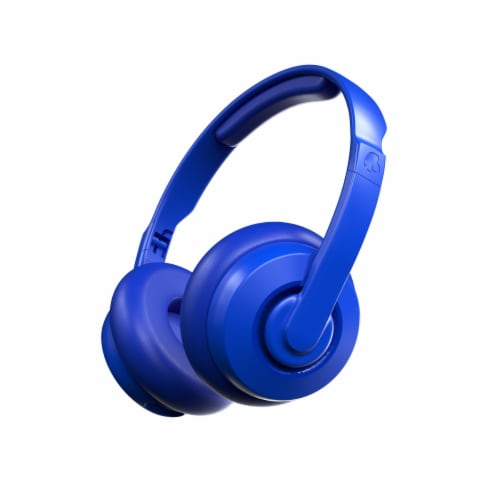 Skullcandy Bass Bluetooth Headphones - Blue Perspective: front