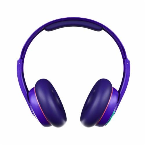 Skullcandy Cassette Wireless Bluetooth Headphones - Purple Perspective: front