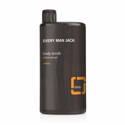 Every Man Jack Citrus Scrub Body Wash Perspective: front