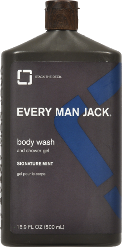 Every Man Jack Body Wash Mint Perspective: front