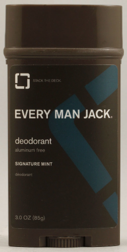 Every Man Jack Signature Mint Deodorant Perspective: front