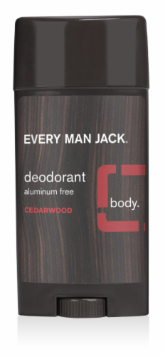 Every Man Jack Cedarwood Deodorant Perspective: front