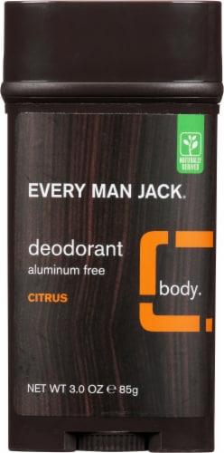 Every Man Jack Citrus Deodorant Perspective: front