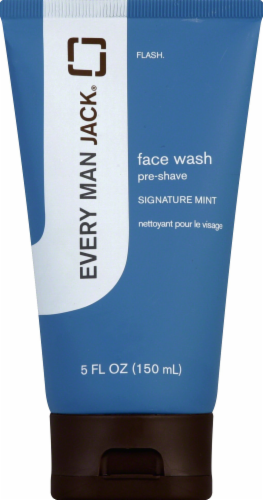 Every Man Jack Signature Mint Shave Wash Perspective: front