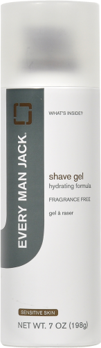 Every Man Jack Fragrance Free Shave Gel Perspective: front