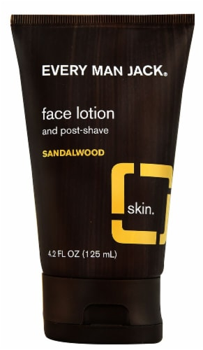 Every Man Jack Post Shave Face Lotion Fragrance Free Perspective: front
