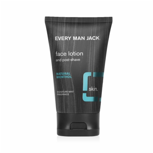 Every Man Jack Signature Mint Face Lotion Perspective: front