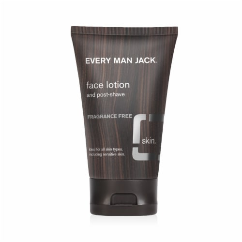Every Man Jack Fragrance Free Face Lotion Perspective: front