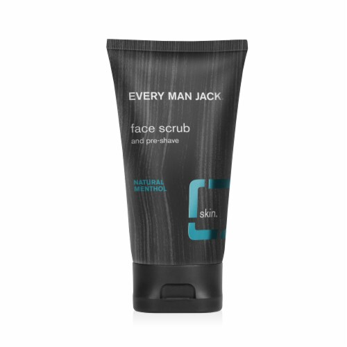Every Man Jack Signature Mint Face Scrub Perspective: front