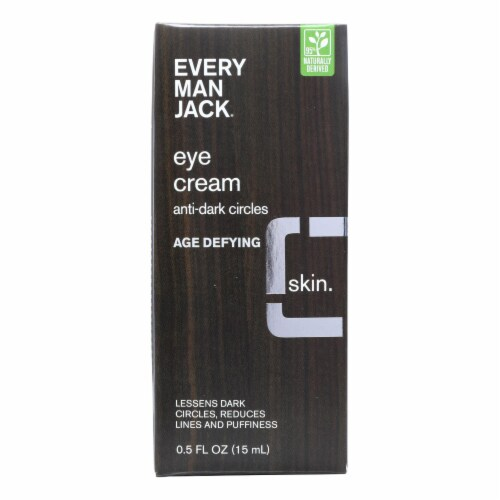 Every Man Jack  Age Defying Eye Cream Fragrance Free Perspective: front