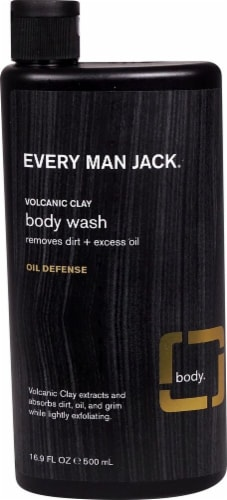 Every Man Jack Oil Defense Clay Body Wash Perspective: front