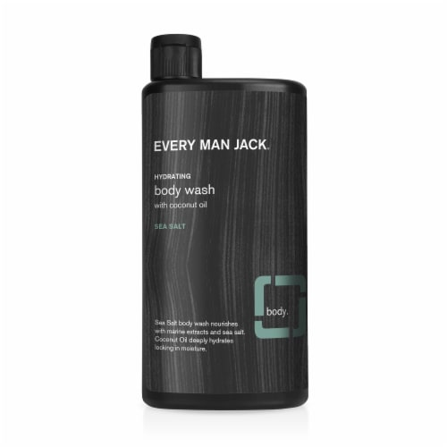 Every Man Jack Sea Salt Body Wash Perspective: front