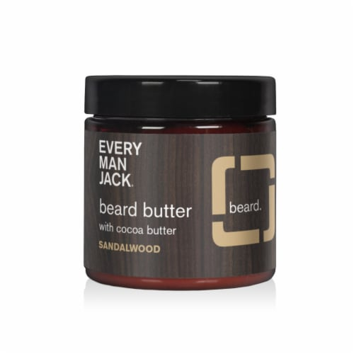 Every Man Jack® Sandalwood Beard Butter Perspective: front