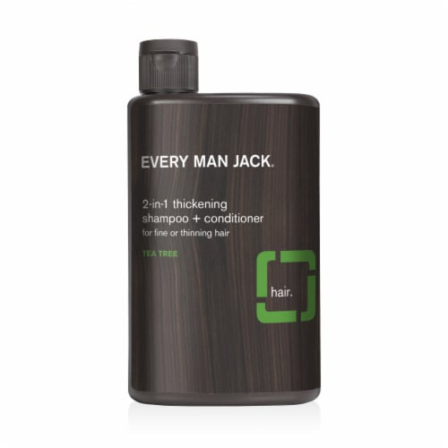 Every Man Jack 2-in-1 Thickening Shampoo + Conditioner Perspective: front