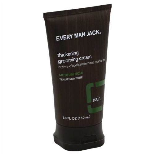 Every Man Jack Thickening Grooming Cream Medium Hold Perspective: front