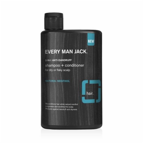 Every Man Jack 2-in-1 Anti-Dandruff Shampoo + Conditioner Perspective: front