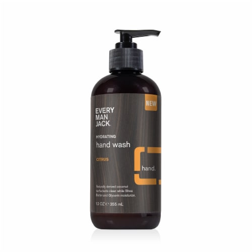 Every Man Jack Citrus Hand Wash Perspective: front