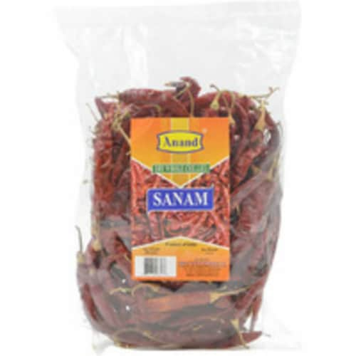 Anand Dry Whole Chillies Sanam - 7.04 Oz Perspective: front