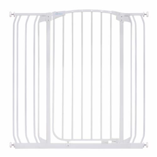 Dreambaby L782W Chelsea 28 to 42.5 Inch Auto-Close Baby Pet Safety Gate, White Perspective: front