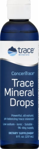 Trace Minerals  ConcenTrace Mineral Drops Perspective: front